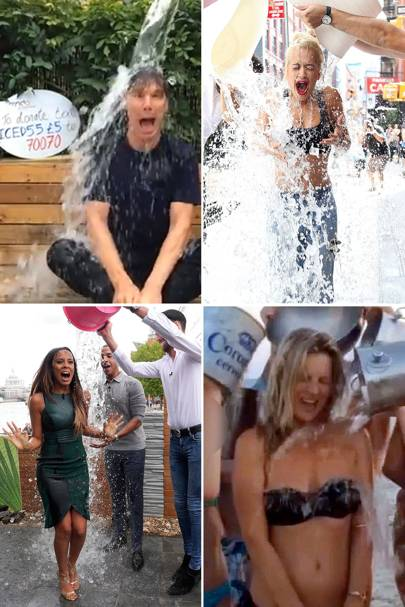 The Ice Bucket Challenges