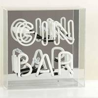 Gin gift sets: the neon sign