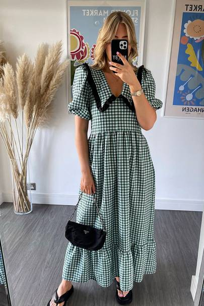 MOBLY THE LABEL - GREEN BERTIE DRESS