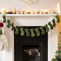 Best Christmas decorations: the stocking garland
