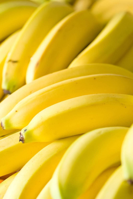 Aliment contre la cellulite avec des bananes
