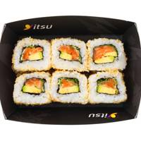 Salmon and Avocado Rolls, Itsu