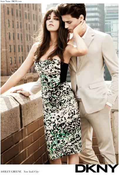 Ashley Greene For DKNY