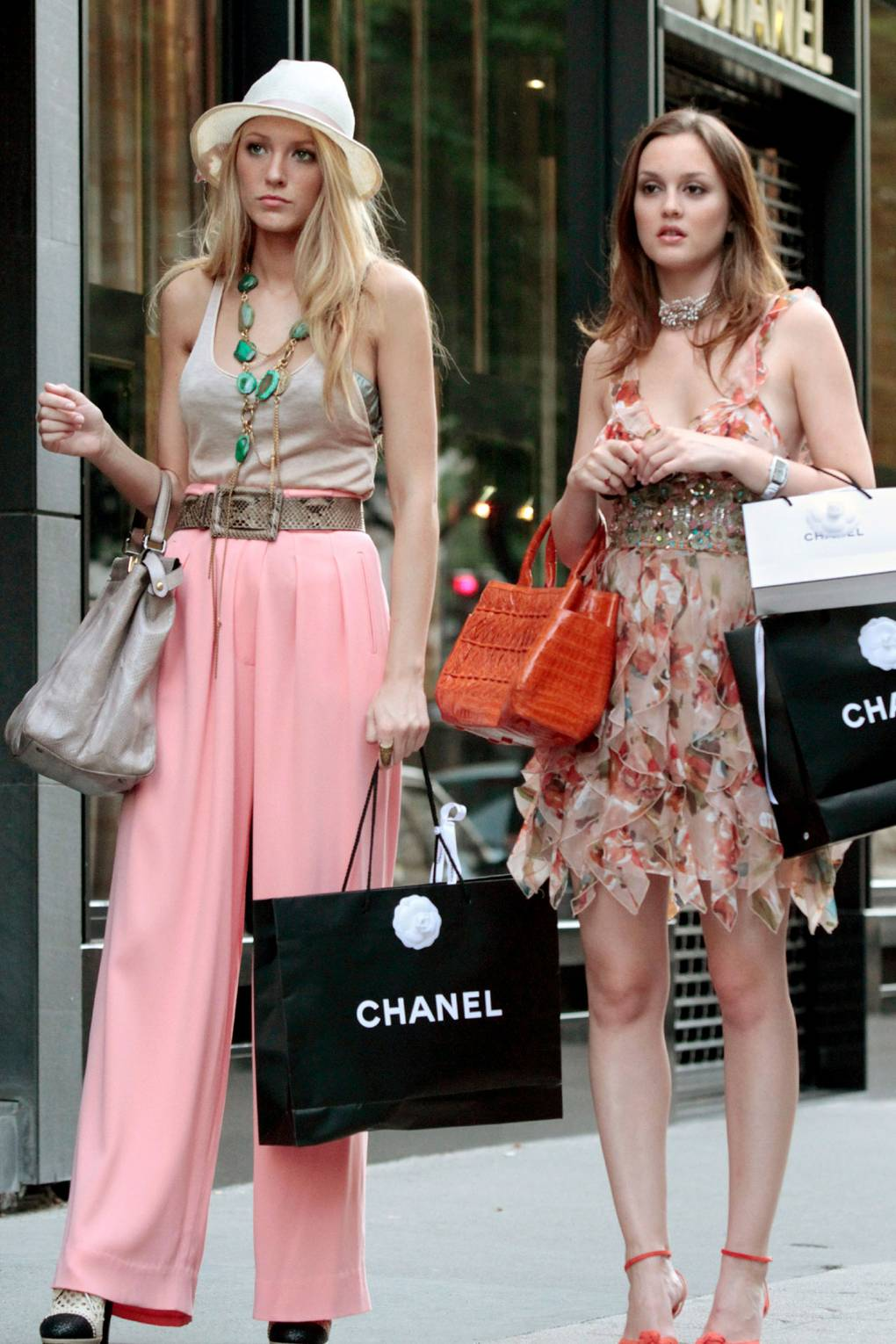 Gossip Girl Style War: Serena V Blair - celebrity fashion and style ...