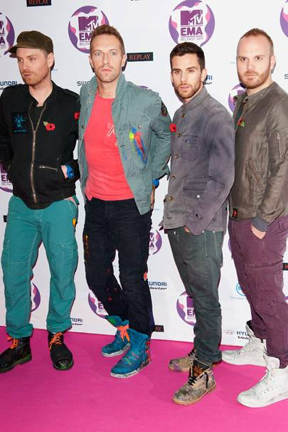 Coldplay at the MTV EMAs 2011