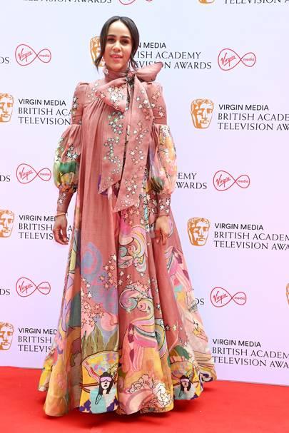 BAFTA TV Red Carpet: Zawe Ashton