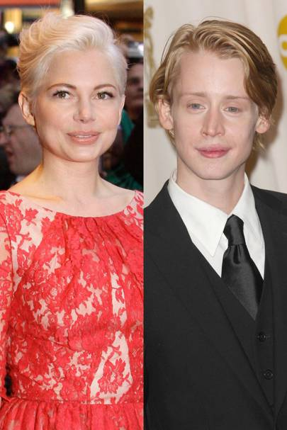 Michelle Williams and Macaulay Culkin