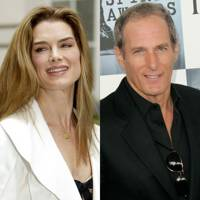 Brooke Shields and Michael Bolton