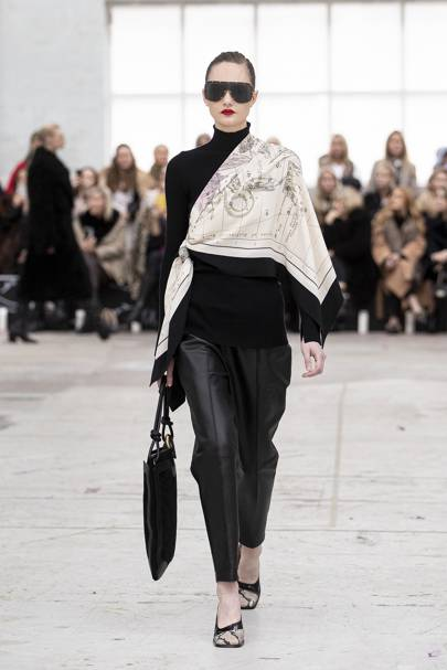 5. SCARVES ACROSS SHOULDERS (at By Malene Birger)