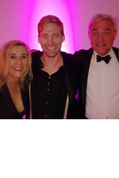 Ricky Wilson & Steph and Dom from Gogglebox