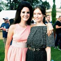 Lana Del Rey and Sophie Ellis-Bextor at House Festival 2012