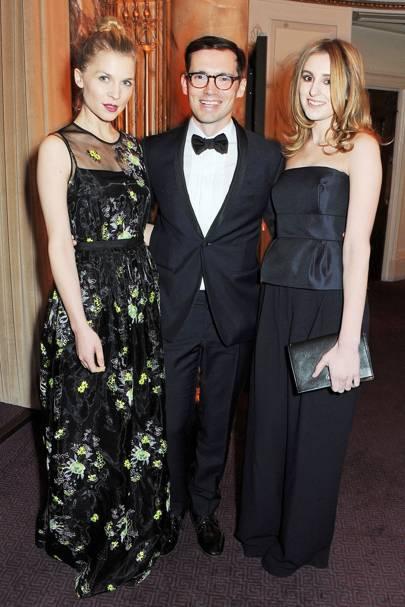Clémence Poésy, Erdem Moralioglu & Laura Carmichael