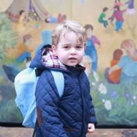 Prince George's first day at nursery
