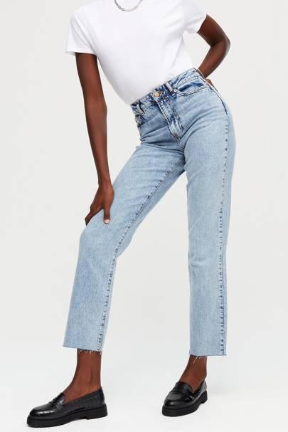 Tall straight leg jeans