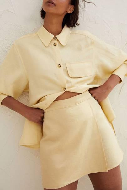 Yellow Skort