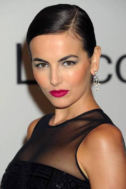 DO #15: Camilla Belle's sleek up-do - October