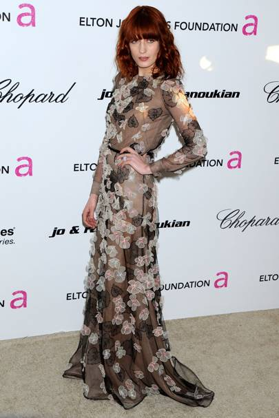 DO #13: Florence Welch at the Elton John Oscars party, February