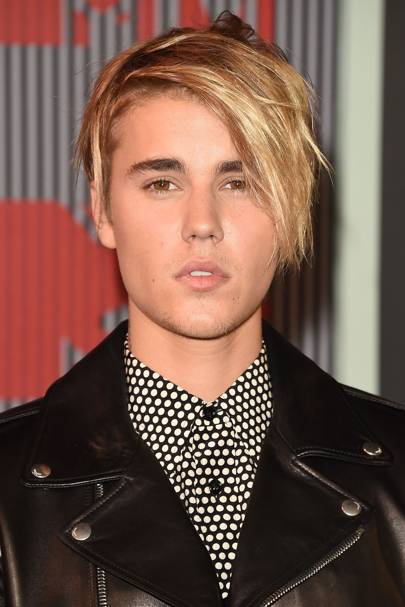 Justin Bieber Blonde Hair Pictures 2015 Photos Glamour Uk