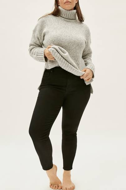 Best Jeans For Curvy Women: Black Jeans