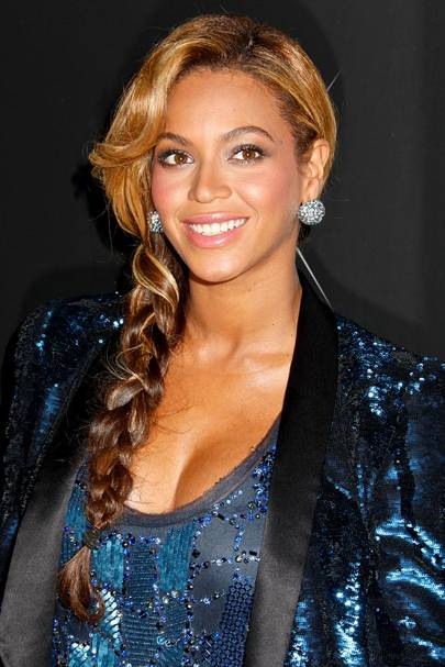 DO #18: Beyoncé Knowles' simple side plait - September