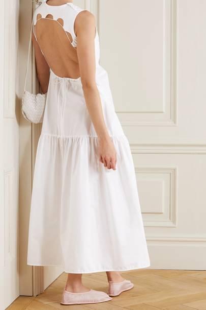White summer dresses uk