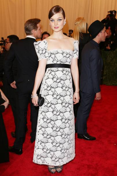 Bella Heathcote at the Met Gala