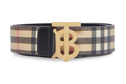 Best designer belts: Burberry