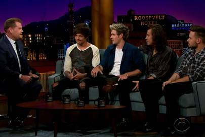 One Direction On The Late Late Show With James Corden Video