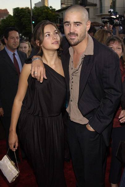 Colin Farrell and Amelia Warner