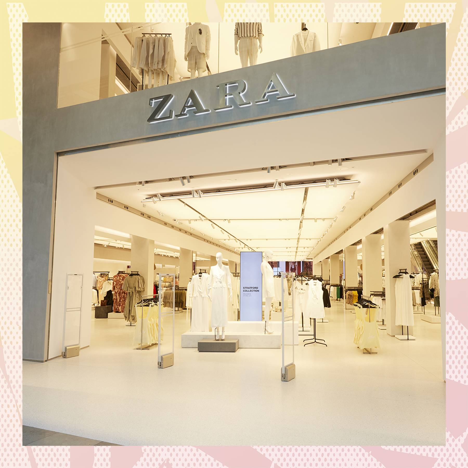 ba5ba552 Zara's Stratford Flagship Just Re-Launched With Incredible Tech ...