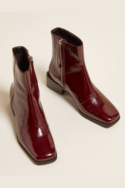 M&S Boot Sale: The Patent Boots