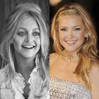 Goldie Hawn and Kate Hudson, Age 30