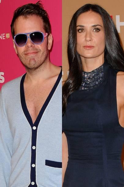 Perez Hilton vs. Demi Moore