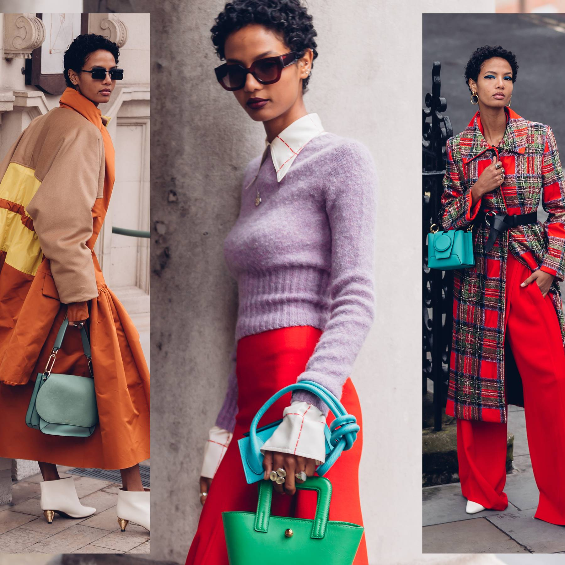 'Colour therapy' for winter is the new fashion trend to know - here's how GLAMOUR is styling it