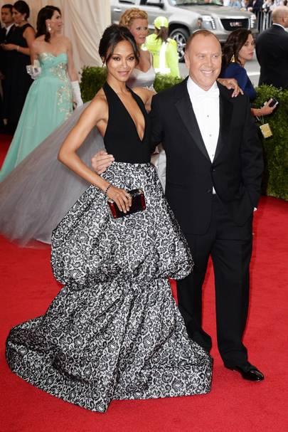 Zoe Saldana & Michael Kors