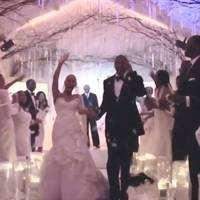 Watch the moment Jay Z and Beyonce got married