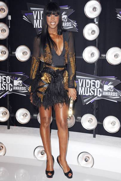 Kelly Rowland at the MTV VMAs 2011
