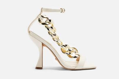 Topshop heels: white heels