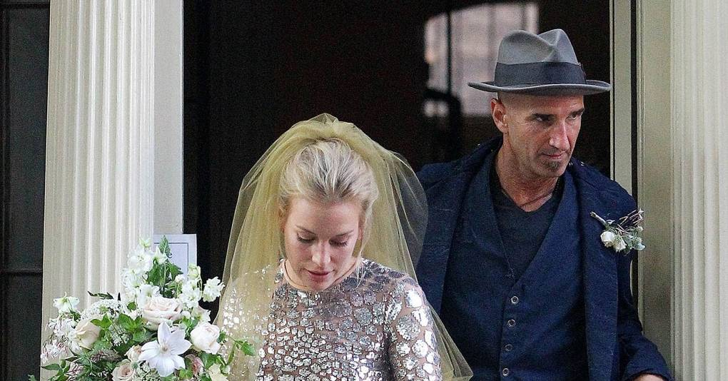 Piper perabo gets married see her unique wedding dress glamour uk junglespirit Choice Image