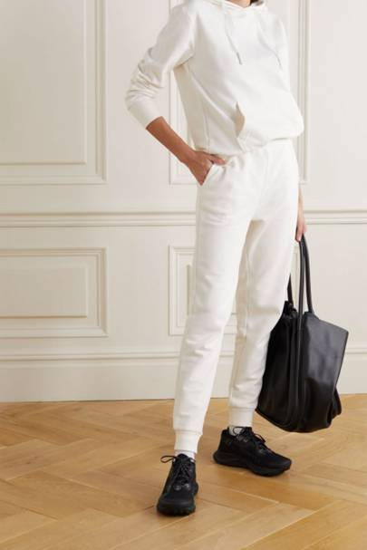 Best loungewear: the white tracksuit