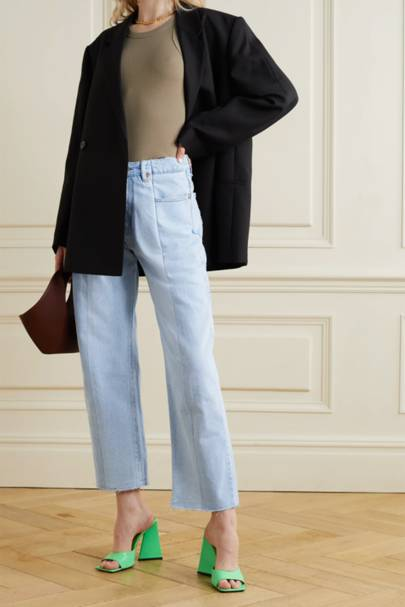 SUSTAINABLE DENIM 2021 - TWO-TONE JEANS