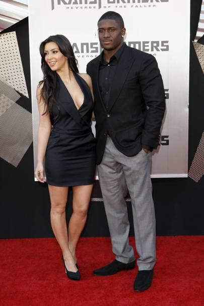 Kim Kardashian & Reggie Bush