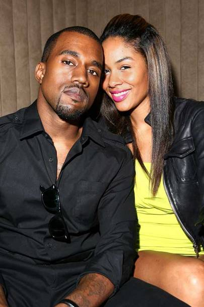 Kanye West and Alexis Phifer
