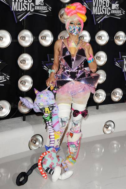 Nicki Minaj at the MTV VMAs 2011
