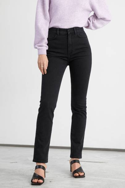 Best High-Waisted Black Jeans: & Other Stories