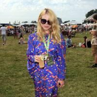 Billie Piper in the Virgin Media Louder Lounge 2012