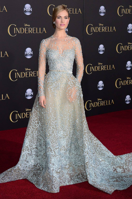 0d6c89ee97 Cinderella trailer 2015 movie  Stars Lily James as Cinderella ...