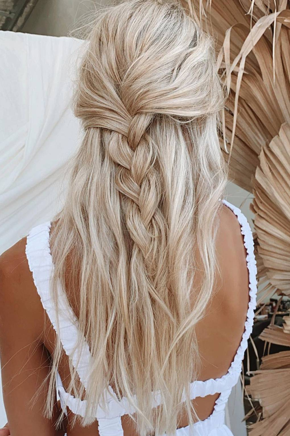 18 Half Up Half Down Hairstyles To Have In Your Locker   Glamour UK