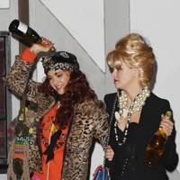 Jessica Alba and Kelly Sawyer as Ab Fab