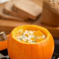 White Bean & Squash Soup